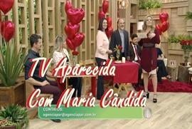 TV Aparecida com Maria Cândida